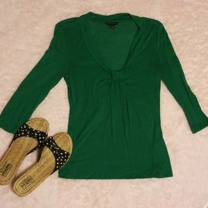 Banana republic 1/4 length sleeve blouse